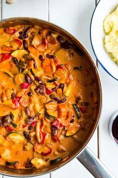 Vegetarian Dinners, Vegetarian Recipes, Healthy Recipes, Healthy Cooking, Healthy Eating, Cooking Recipes, Veggie Recipes, Dinner Recipes, Healthy Chicken Dinner