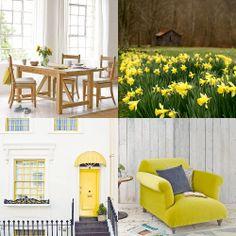 Spring yellows #dailyinspiration @Gilda Anderson Locicero Apothecary @Loafdotcom