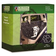 Cruising Companion Hammock Car Seat Covers  Cushioned Car Seat Covers for Dogs Black -- Want additional info? Click on the image.
