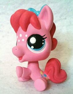 Baby Pinkie Pie Custom Hand Painted Littlest Pet Shop My Little Pony | eBay
