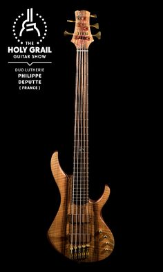 Exhibitor at The Holy Grail Guitar Show 2014: Philippe Deputte, Duo Lutherie, France  https://www.facebook.com/duolutherie http://holygrailguitarshow.com
