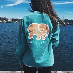 Standard Seafoam Aztec Print Portion of proceeds go to saving elephants