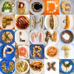 Food alphabet !