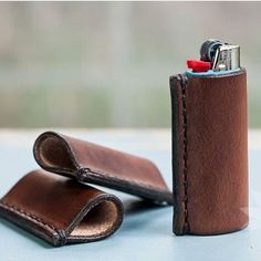 Elevate your lighter and wrap it in your gorgeous Leather Lighter Case from Walnut Studiolo!  by our friends @smuggleportland. Hand-dyed hand-stitched and crafted with love from Oregon.  // Follow us on Instagram to see more! #WalnutStudiolo