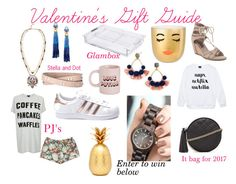 """Valentine's Gifts for Her"" by kristineashleystyle on Polyvore featuring Stella & Dot, GLAMbox, Oh Joy!, ban.do, BaubleBar, adidas, Forever 21, Topshop, Vera Bradley and giftguide"