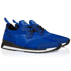 Hogan Rebel running R261 sneakers in leather and fabric - Italian Boutique €193