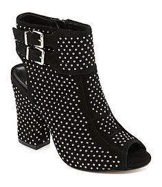 Jessica Simpson Mateo Studded Booties #Dillards