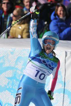 Julia Mancuso wins the Silver for Team USA in Vancouver