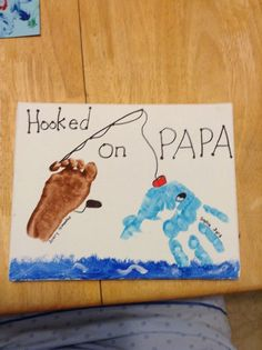 Hooked on PAPA Father's Day Card