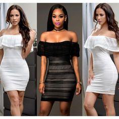 Womens Sleek Classy Sexy Party Club Dress