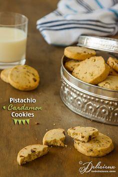 Pistachio and Cardamom Cookies