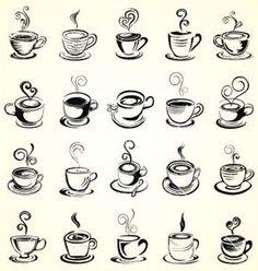 Hand drawn coffee cup vector doodle sketch by VectoryOne on VectorStock®