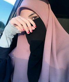 Arab Girls Hijab, Muslim Girls, Muslim Women, Hijabi Girl, Girl Hijab, Hijab Outfit, Niqab Fashion, Muslim Fashion, Stylish Hijab