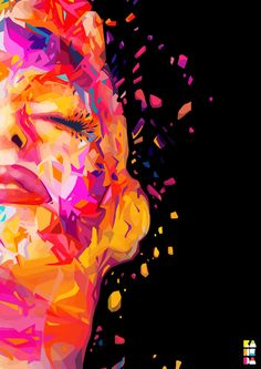 Abstract Colors 2012 on Behance