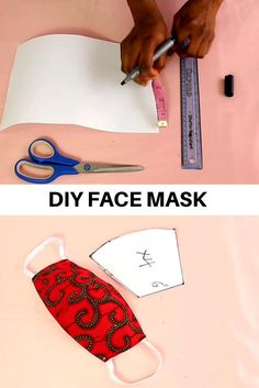 This is a video sewing tutorial on how to sew a face mask from fabric. You will find a free sewing pattern for your own face mask. DIY fabric face mask is an easy sewing project even for a beginner sewist. Diy Sewing Projects, Sewing Hacks, Sewing Tutorials, Sewing Crafts, Sewing Diy, Free Sewing, Makeup Bag Tutorials, Pattern Drafting Tutorials, Serger Sewing