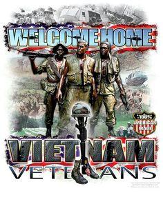 WELCOME HOME VIETNAM VETERANS.
