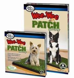 FOUR PAWS PRODUCTS - WEE WEE PATCH INDOOR POTTY (SMALL) 'Ctg: DOG PRODUCTS - DOG HEALTH - HOUSEBREAKING' *** Click image to review more details.