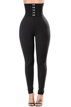 745eac528f3c9 Corset Belt High Waist Leggings - Womens #fashion #clothing #shoes  #accessories #