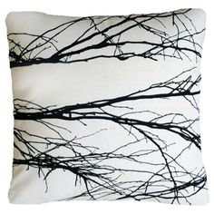 Love Milo cushions: branch  http://pinterest.com/meelyjane/object-and-graphic-design/