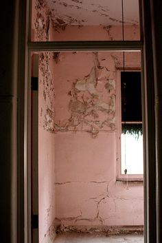 Yankton State Hospital. A resident room- they lived here for ever.