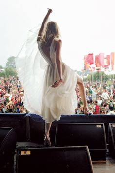 If my wedding were at a festival this would be me