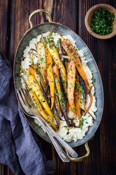 The Bojon Gourmet: Cumin and Honey Roasted Carrots, Ricotta, and Gremolata