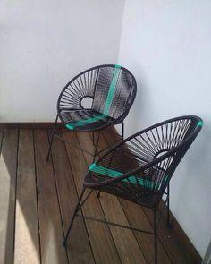Sillas Acapulco tejidas