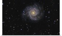 Messier 74 a faceon spiral galaxy in the constellation Pisces