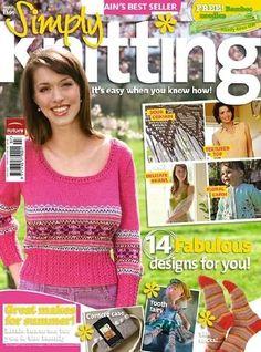 Ravelry: Simply Knitting 43, July 2008