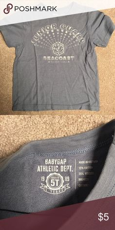 Gap - toddler boy shirt Size 5T boys grey shirt. Excellent condition. GAP Shirts & Tops Tees - Short Sleeve