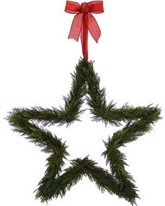 Wayfair Natural Preserved Cedar Star 21 Wreath. Click on the image to buy or get more info - #christmasdecor #christmaswreaths #christmas   christmas wreaths   christmas wreaths diy   christmas wreaths for front door   Artificial Christmas Wreaths   Christmas decorations - Wreaths   Christmas Wreaths & Decor   Christmas Wreaths  