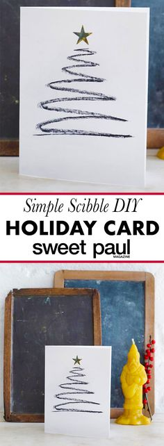 I love how fast it is to make a chic little notecard to share with your friends!