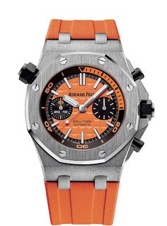 Audemars Piguet Royal Oak Offshore Diver Chronograph - orange - front