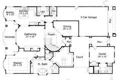 House Plan chp-35502 at COOLhouseplans.com