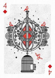 data.cards.special4diamonds606.imageAltText Tarot, Collaborative Art Projects, Diamond Vector, 4 Diamonds, Baroque Pattern, Design Seeds, Vector Art, Vector Graphics, Creative Cards