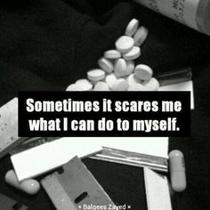The old days, self-destruction Im Depressed, I Want To Cry, Dark Thoughts, Dark Quotes, My Demons, Depression Quotes, I Am Scared, How I Feel, Anxiety