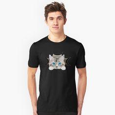 """Katze Mieze Kätzchen"" Turnbeutel von Luigishirts | Redbubble Rey David, Kawaii Shirts, Rose Shirts, Black Oil, Flower Shirt, My T Shirt, Tshirt Colors, Chiffon Tops, Retro Vintage"