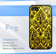 floral pattern elegant iphone case iphone 4 case by SIMPELMonogram, $14.99