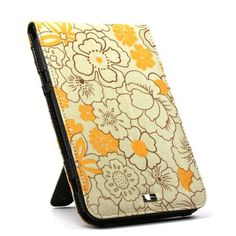 JAVOedge Poppy Flip Case for the Amazon Kindle Keyboard 3G / WiFi (Sunny Yellow) - Current Generation by JAVOedge. $15.99. Brighten up your day with JAVOedge Poppy Flip Case for Amazon Kindle 3G/WiFi. The case is abloom with bright wildflowers that add a pop of color. Featuring a flip jacket, the case design offers a snug, padded fit for your Kindle. The JAVOedge Poppy Flip Case includes a kickstand so it can be propped up for hands-free viewing. Design features ea...