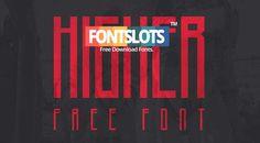 Higher Font Free Download