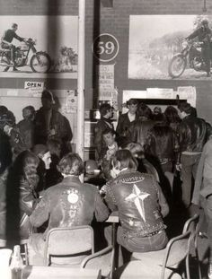#GoWatch:The 59 Club, Rockers and Motorcycles in England