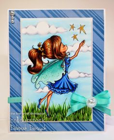 Deborah's shining cards: Catch a star!