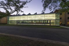 China Embassy Pool Enclosure / Townsend + Associates Architects