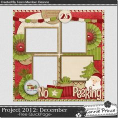 Scrapbooking TammyTags -- TT - Designer - Connie Prince, TT - Item - Quick Page, TT - Theme - Christmas