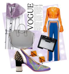 """""""🔮"""" by minaoguz on Polyvore featuring moda, Miu Miu, Gucci, Rosie Assoulin, NARS Cosmetics ve Givenchy"""