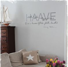 Haave. Tulla lujaksi. Pysyä pehmeänä. Siinä on haavetta kylliksi yhdelle elämälle. Tommy Tabermann Wall Quotes, Interior Inspiration, Home Decor, Home, Decoration Home, Room Decor, Home Interior Design, Home Decoration, Interior Design