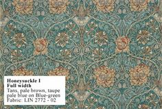 William Morris Honeysuckle wallpaper