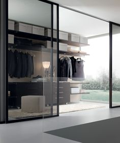 Jesse SPA - Mobili Arredamento Design - PLURIMO WARDROBE SYSTEMS - Walk-in Closet