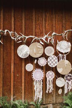 magenta boho wedding inspiration   Samantha McFarlen   Glamour & Grace