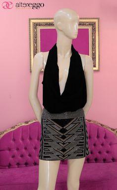#falda #brillos #estoperoles #lentejuelas #chaquira #glitters #moda #fashion